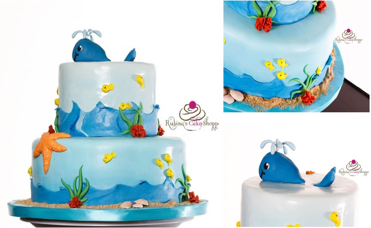 Beach Birthday Cakes Pictures
