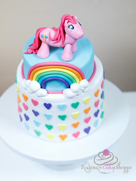 Princess Twilight Sparkle Birthday Cake