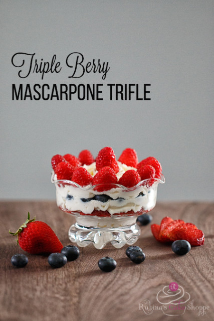 Triple Berry Mascarpone Trifle1